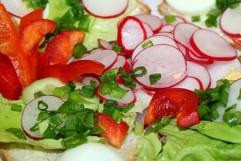 vegetables, nutrition, radish